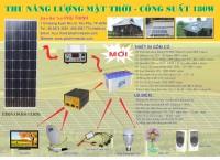 Máy phát điện năng lượng mặt trời 1000W có gì đặc biệt?