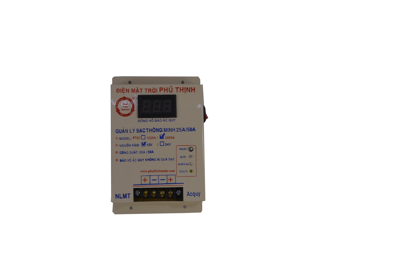 Quản lý sạc thông minh 12V / 24V - 50A