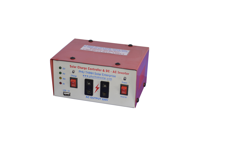 Quản Lý Sạc 20A Kết Hợp Inverter 250 Watt
